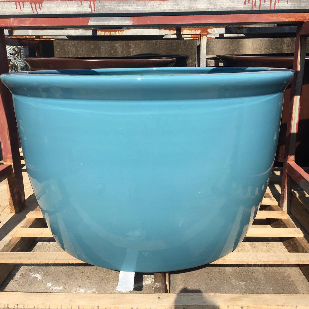 景德镇陶瓷生产厂家专门制造泡澡缸圆形1米大缸