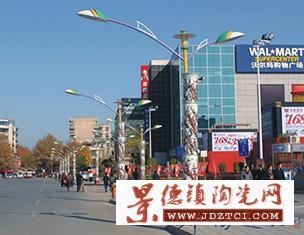 新时代文化城市建设公园广场景点装饰路灯