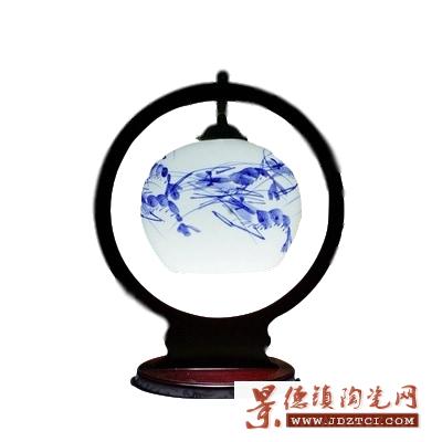 古典仿古陶瓷灯罩