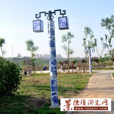 景德镇灯柱广场方形小区花园户外庭院景观灯柱