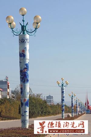 景观灯柱陶瓷灯柱辰天陶瓷陶瓷厂家定制陶瓷灯柱户外