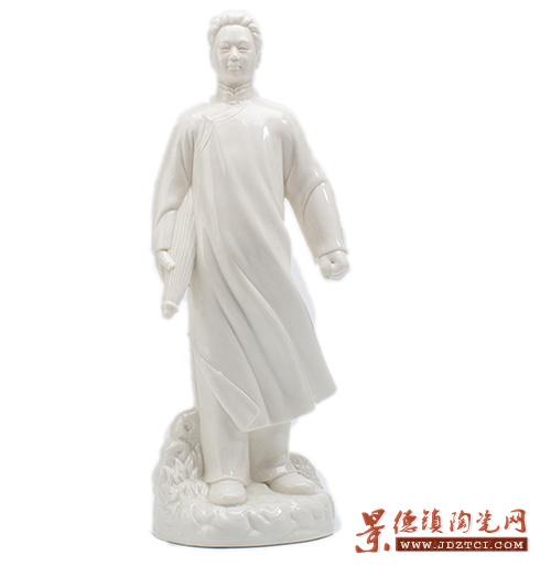 雕塑瓷人物摆件