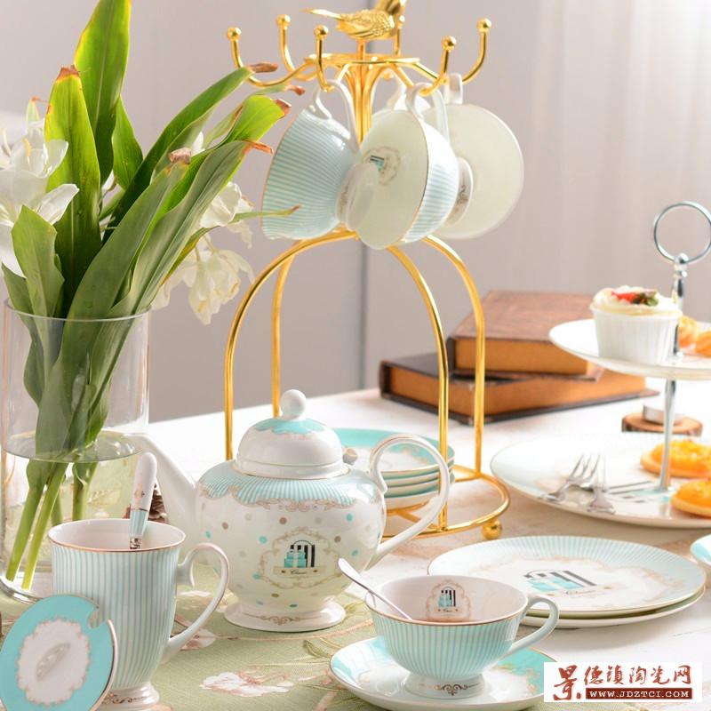 精美品质生活陶瓷咖啡杯咖啡具套装