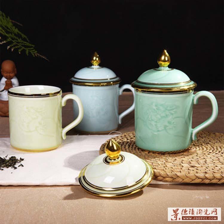 景德镇陶瓷水杯定制