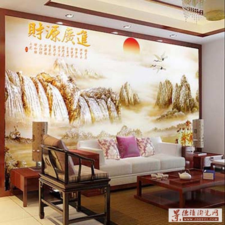 客厅壁画玄关装饰画