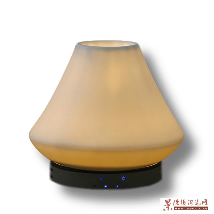 卧室客厅喷雾熏香机炉家用插电静音陶瓷超声波加湿器