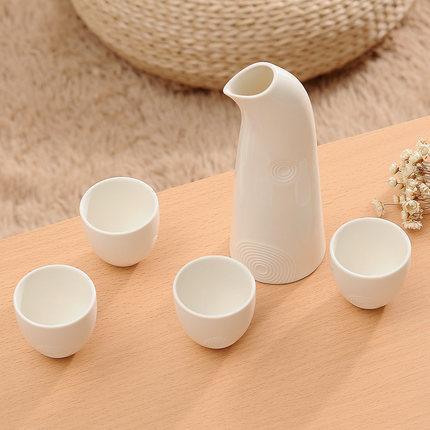 复古陶瓷清酒壶套装