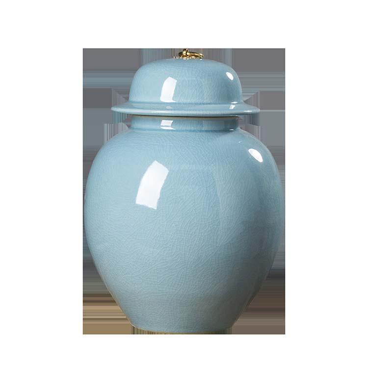 陶瓷防虫米缸米桶景德镇带盖家用储米箱