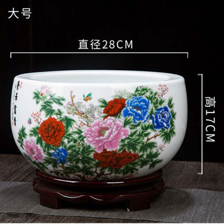 景德镇陶瓷水仙花盆