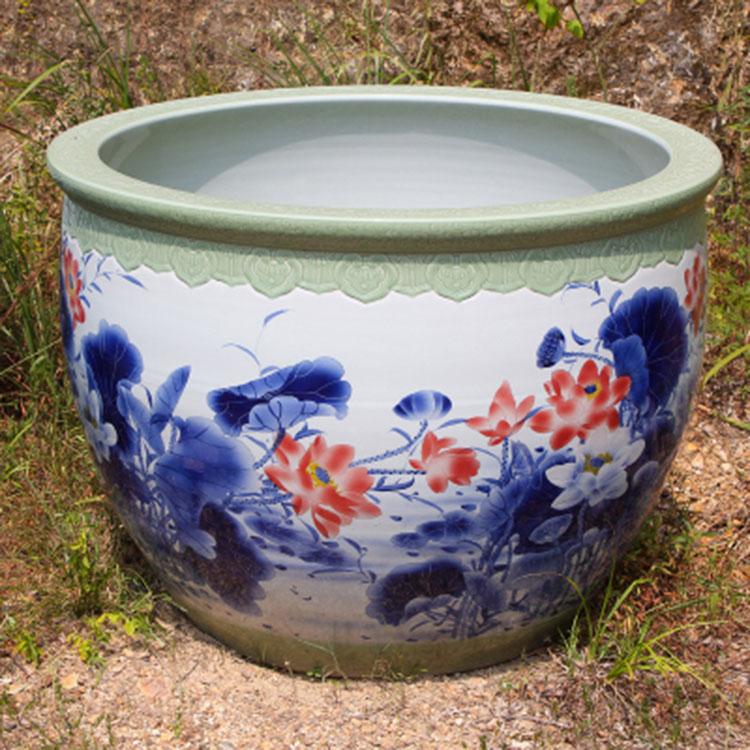 景德镇1米到2米直径特大号瓷器大缸