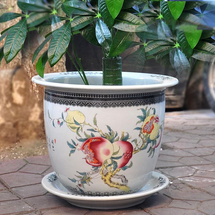 景德镇陶瓷器花盆