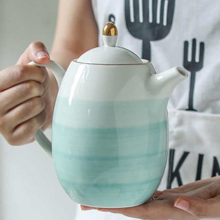 英式下午茶具套装中式杯碟壶家用陶瓷高档礼盒轻奢咖啡杯具