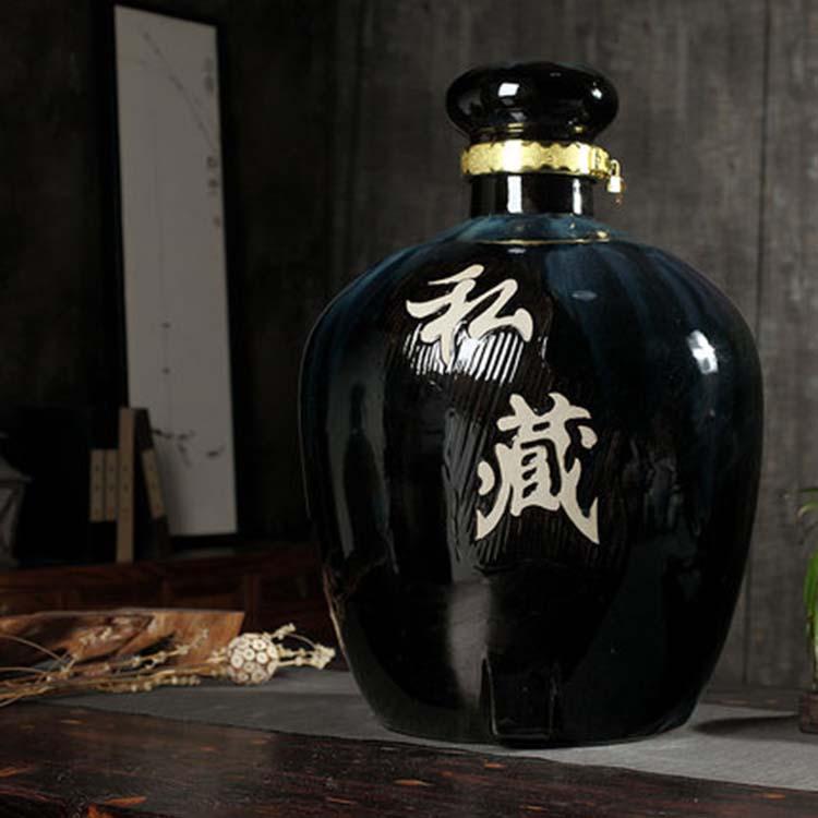 景德镇大号带龙头200斤陶瓷酒缸