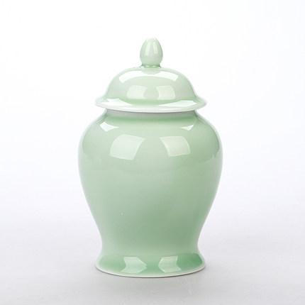 陶瓷茶叶罐小号存茶罐家用