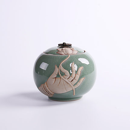 陶瓷普洱茶叶罐