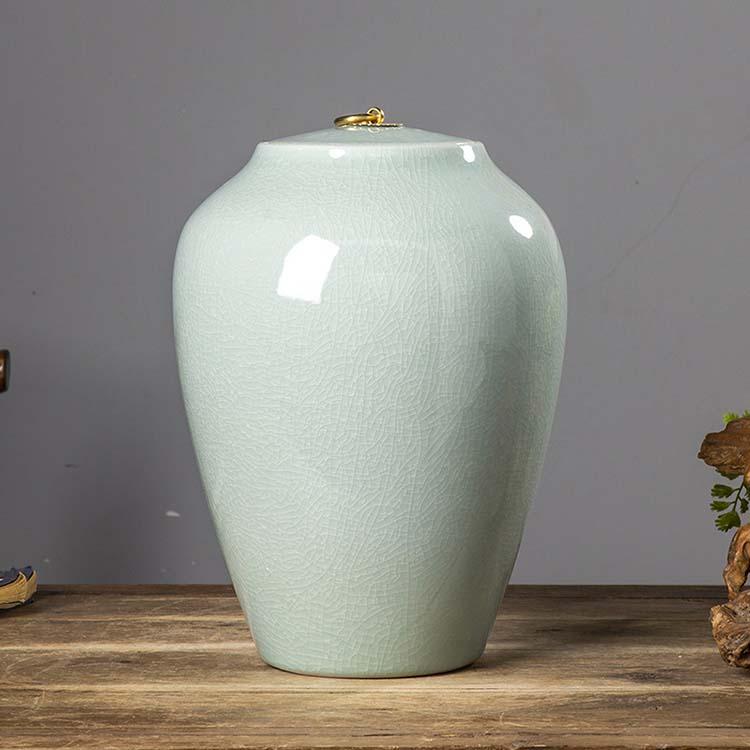 景德镇陶瓷米缸家用防潮防虫米桶