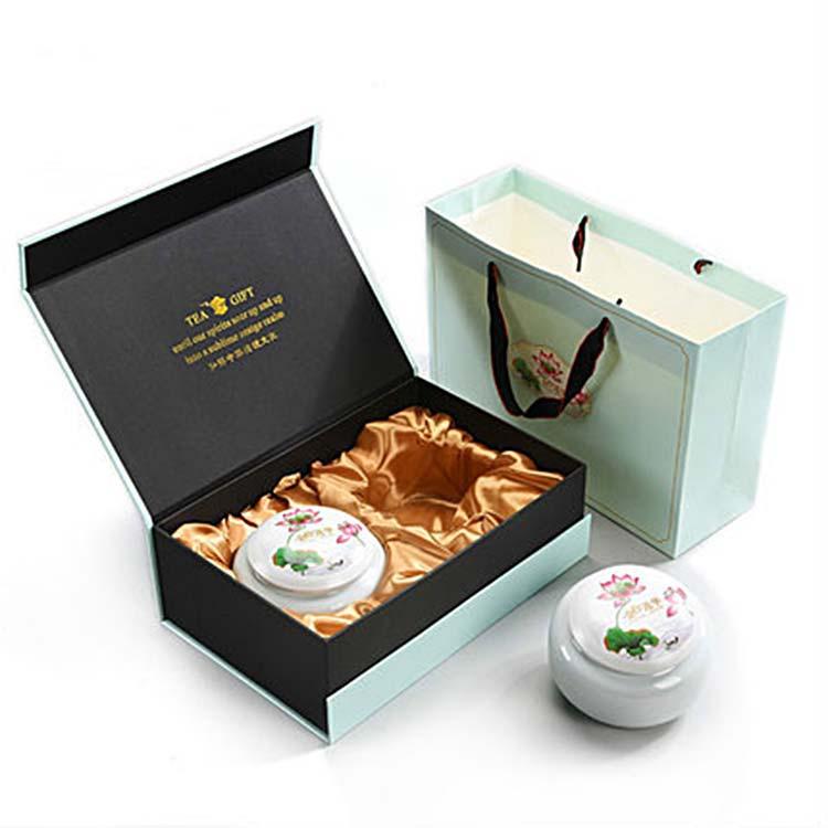 茶叶罐陶瓷中号密封罐绿茶礼盒