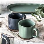 韩式陶瓷杯复古马克杯办公室咖啡杯早餐牛奶杯