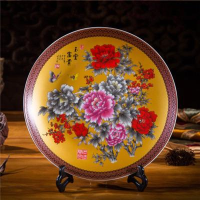 订做礼品陶瓷纪念盘