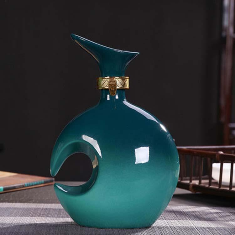 陶瓷酒瓶1斤5斤10斤空瓶定制
