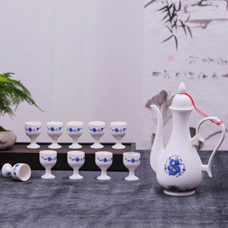 景德镇陶瓷酒具礼盒装
