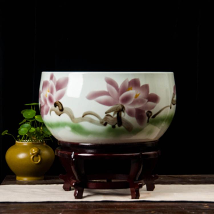 景德镇陶瓷大缸栽树缸