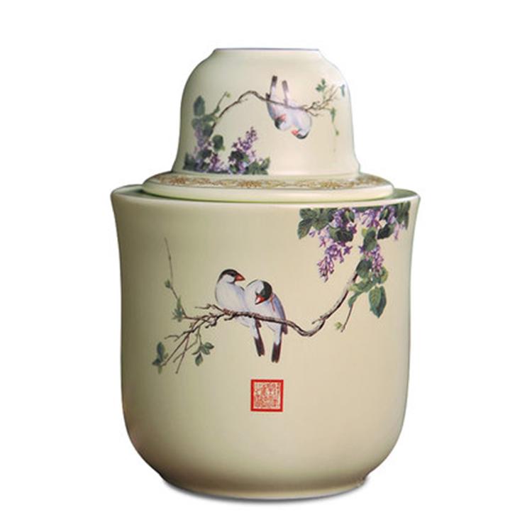 景德镇陶瓷烫酒壶