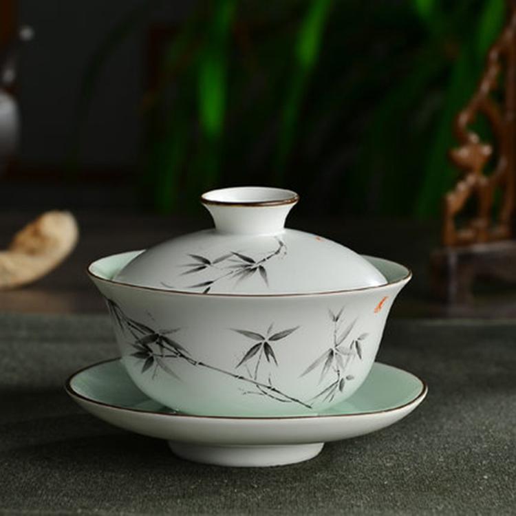景德镇陶瓷盖碗