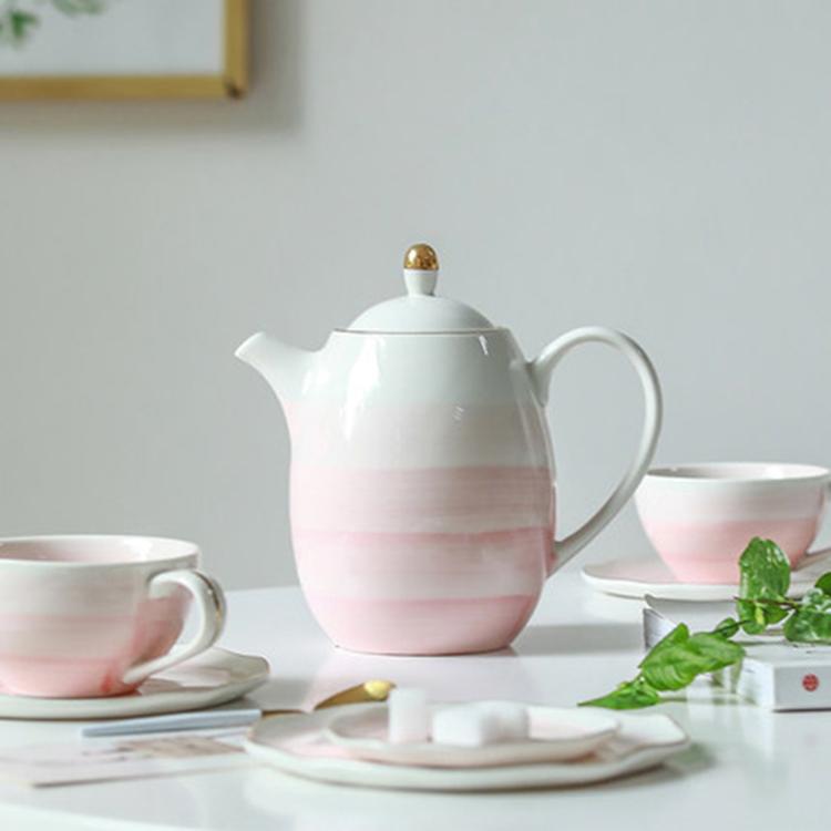 北欧情侣陶瓷咖啡杯套装