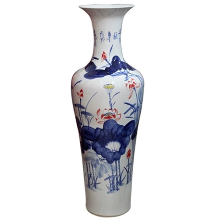 景德镇陶瓷器落地客厅摆件