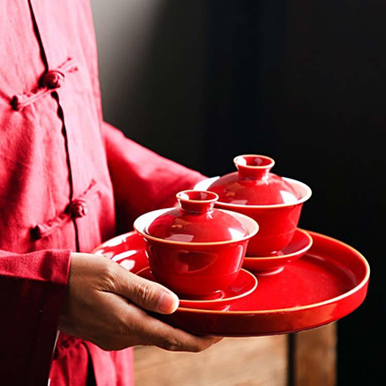 景德镇陶瓷创意盖碗