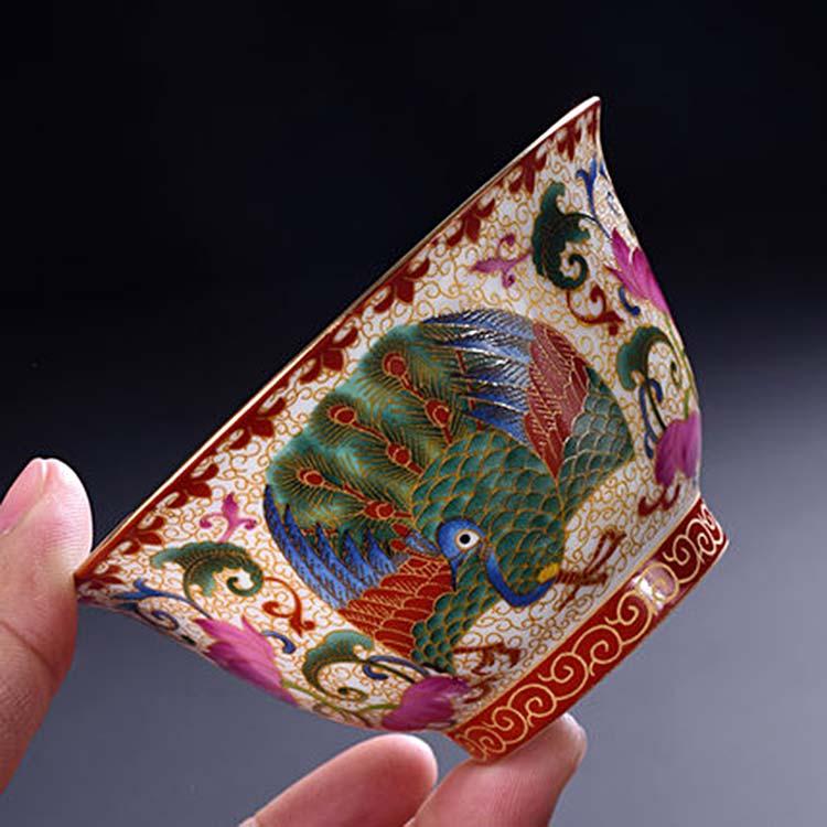 景德镇陶瓷盖碗茶具