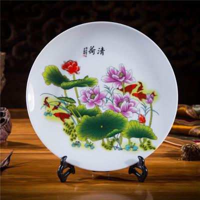 陶瓷挂盘摆件个性摆件盘批发