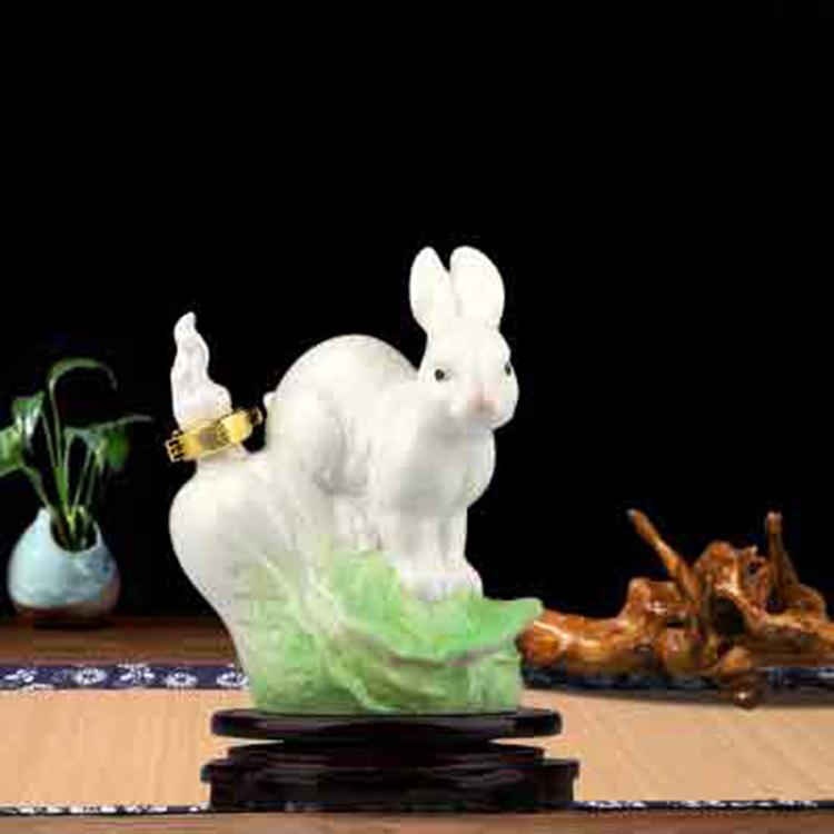 景德镇陶瓷摆件酒瓶