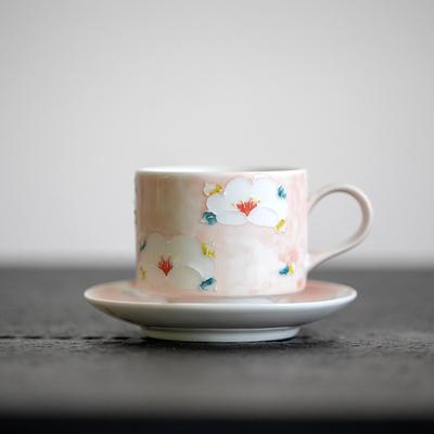 景德镇手绘陶瓷咖啡杯