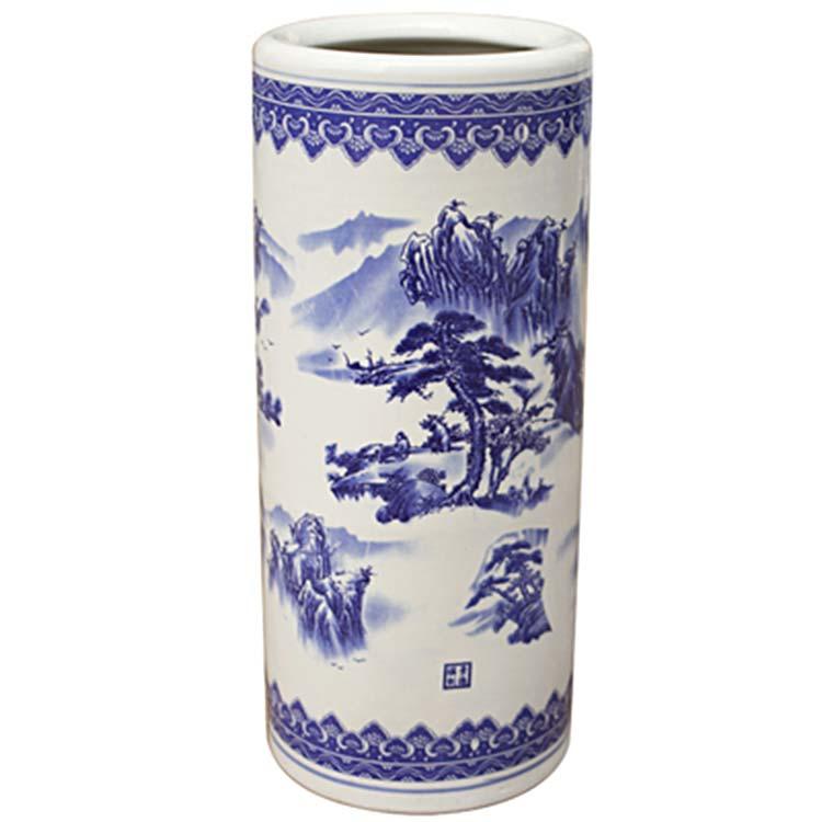 景德镇陶瓷青花瓷新中式瓷瓶