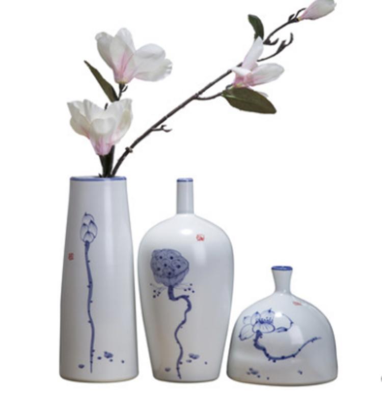 景德镇陶瓷花束花瓶