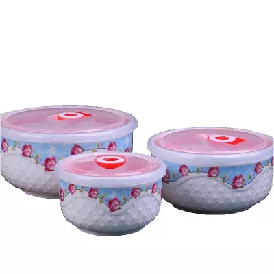 厂家批量陶瓷保鲜餐具陶瓷保鲜碗带盖套装