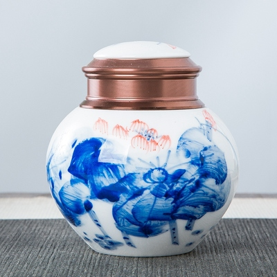 陶瓷茶叶罐米缸