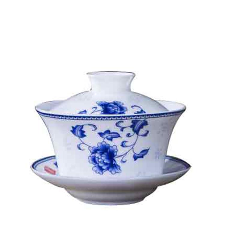 创意盖碗茶杯