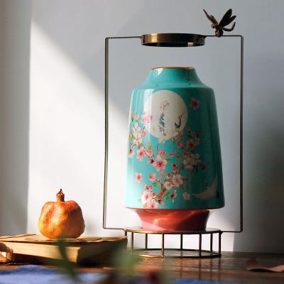 景德镇新中式陶瓷花瓶摆件