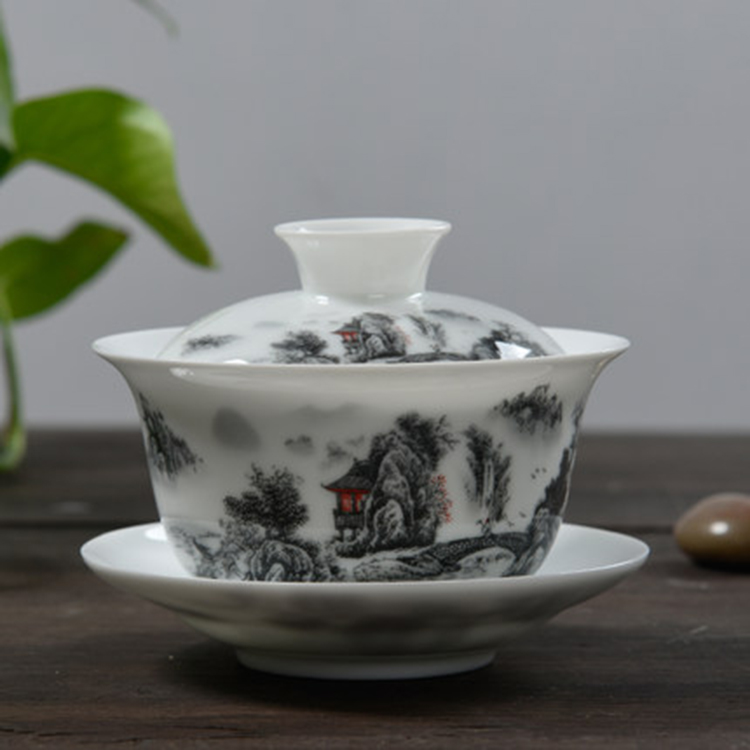 复古老式茶碗