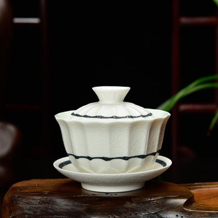 景德镇中式陶瓷盖碗