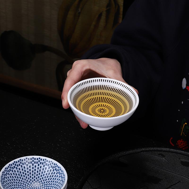 日式陶瓷功夫茶杯
