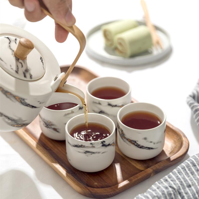 北欧简约陶瓷茶碗茶杯