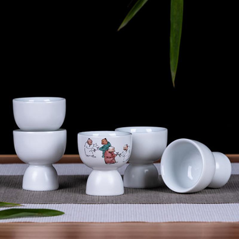 景德镇陶瓷小酒杯