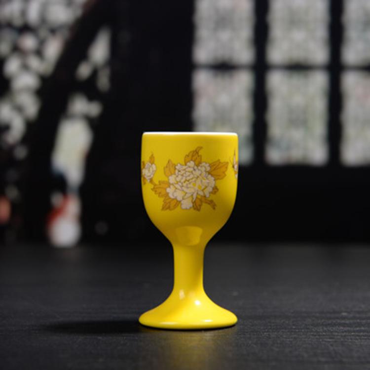 中式白酒杯烈酒杯高脚杯
