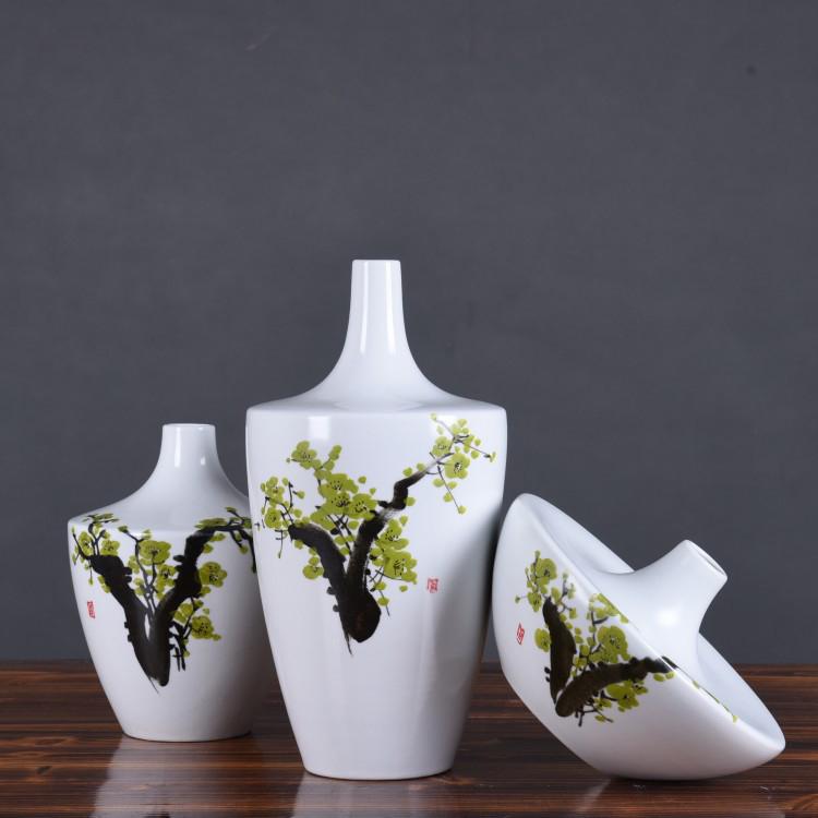 时尚简约现代中式陶瓷三件套