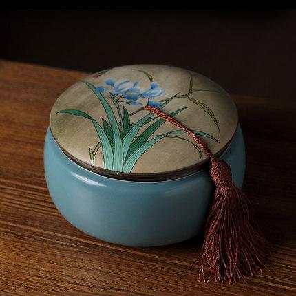 陶瓷密封陶瓷茶叶罐
