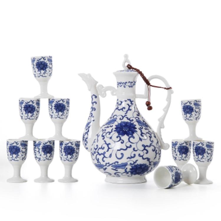陶瓷酒壶酒杯酒具套装